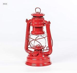 Feuerhand Galvanized Lantern - Red