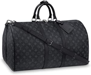 fc623b13381f Louis Vuitton Keepall 55 Monogram Eclipse Canvas M40605