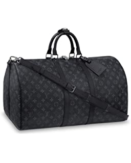 Amazon.com  Louis Vuitton monogram canvas Keepall 55 Luggage M41414 ... b14ad0a2918f3