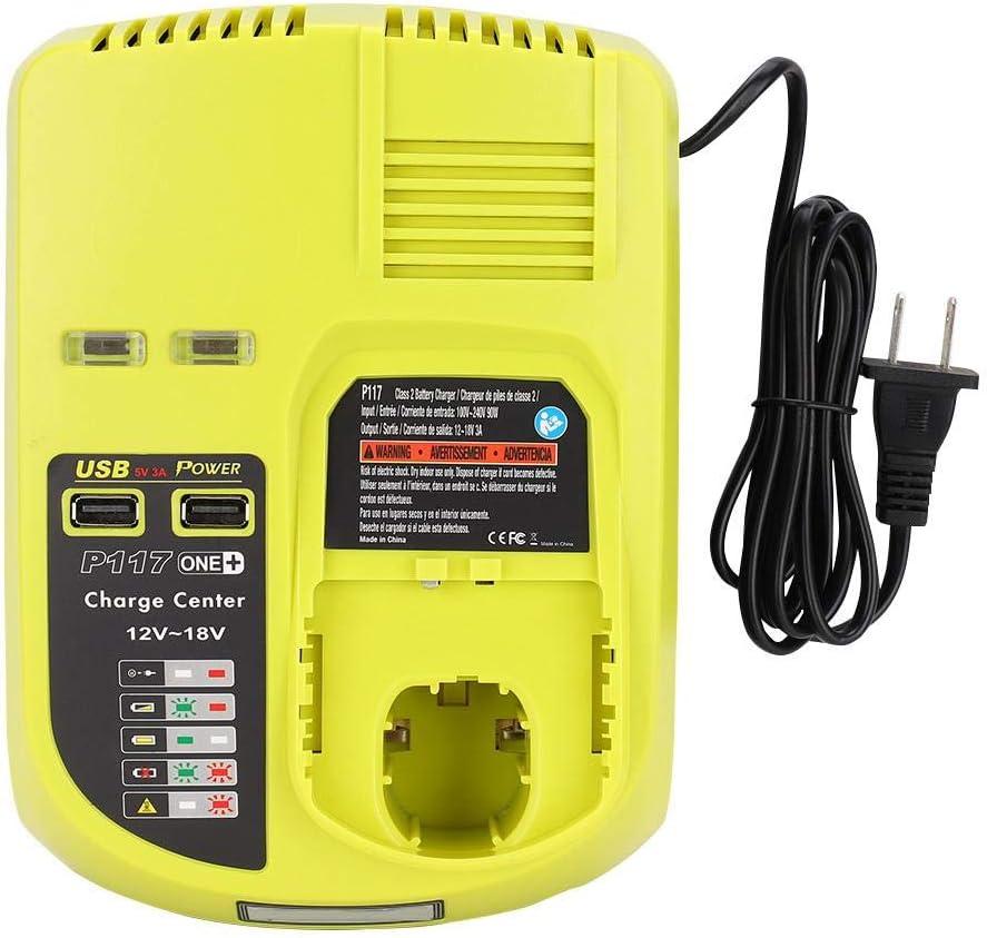 Amazon.com: ASHATA Replacement P108 P117 12-18V Lithium ...