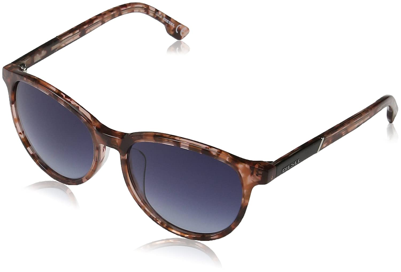 Diesel Unisex Sonnenbrille DL0123, Mehrfarbig (Mehrfarbig 54W), Medium
