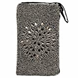 Bamboo Trading Company Cell Phone Bag, Night Bloom