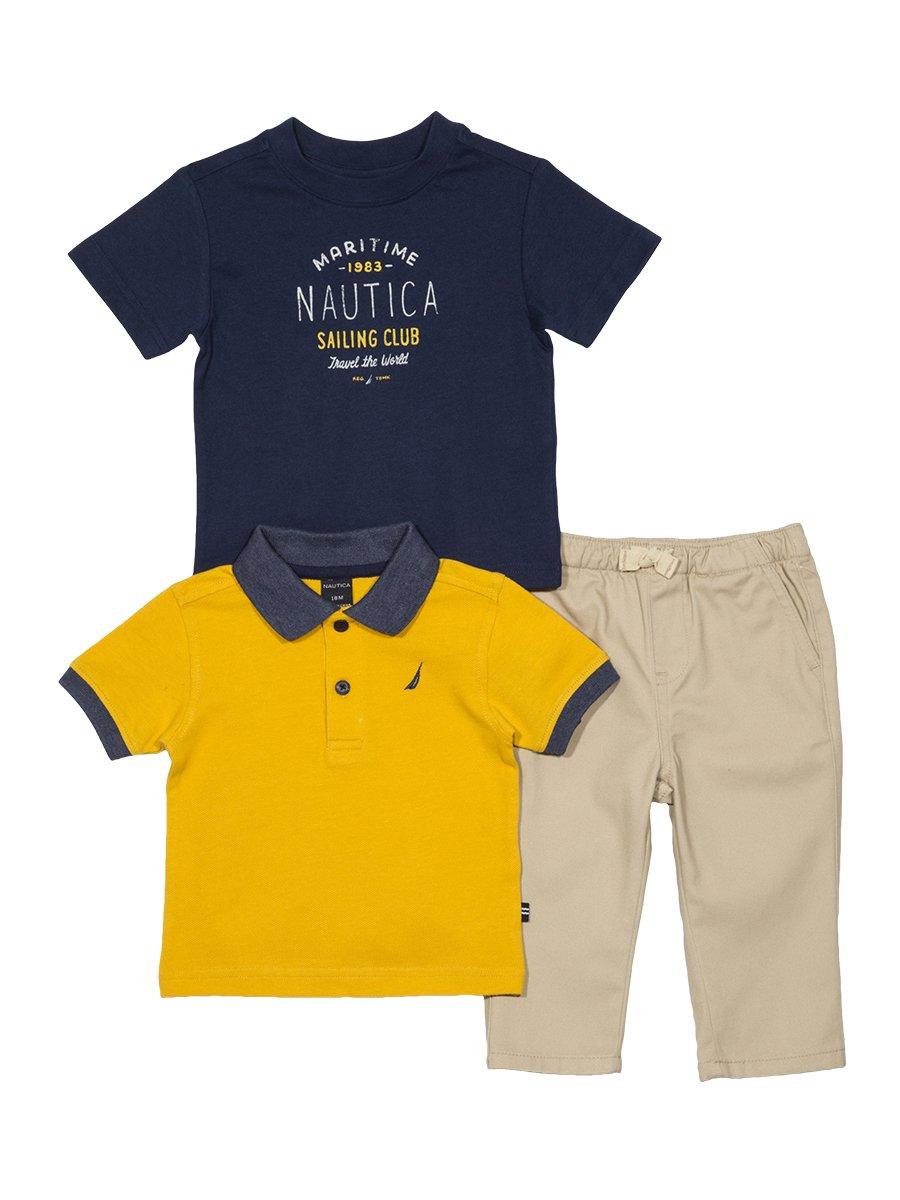 ae77d2e57 Nautica Baby Boys  Short Sleeve Polo