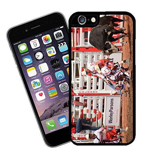 Bull Riding at Calgary Stampede in Canada 07 iPhone case - This cover will fit Apple model iPhone 7 (not 7 plus) - By Eclipse Gift Ideas
