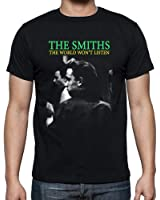 The Smiths The World Won't Listen Men's Fashion Quality Heavyweight T-Shirt.