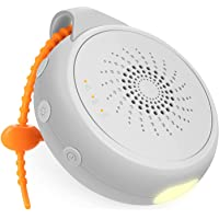 COMSYNC Portable White Noise Machine, Sound Machine for Sleeping Baby with Night Light, Sleep Soothers with 12 Soothing…