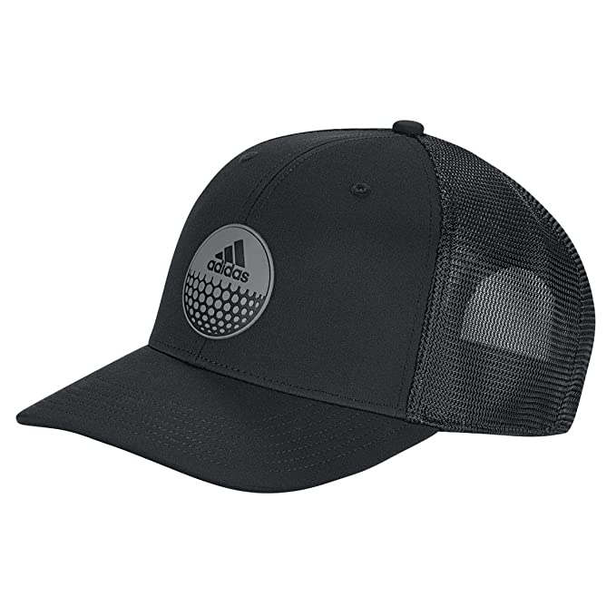 22d55c960c101 adidas Men s Globe Trucker Hat Baseball Cap Black (Negro Dt2187 ...