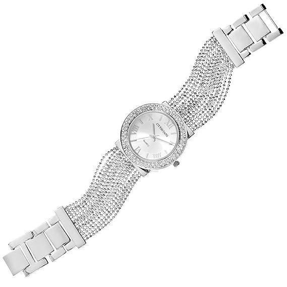 Reloj joya Ottaviani Mujer Solo Tiempo de metal usan también come pulsera: Amazon.es: Relojes