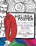 Love in Bloom Adult Coloring Book (Volume 1)