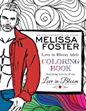 img - for Love in Bloom Adult Coloring Book (Volume 1) book / textbook / text book