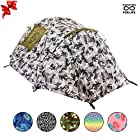 Chillbo Cabbins 2 Person Tent with Cool Patterns Dome Tent for Backpacking Car