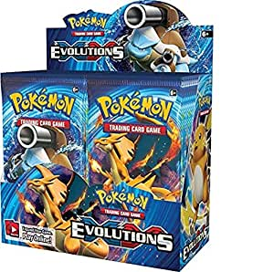 Pokemon Evolutions Sealed Booster Box 324 cards
