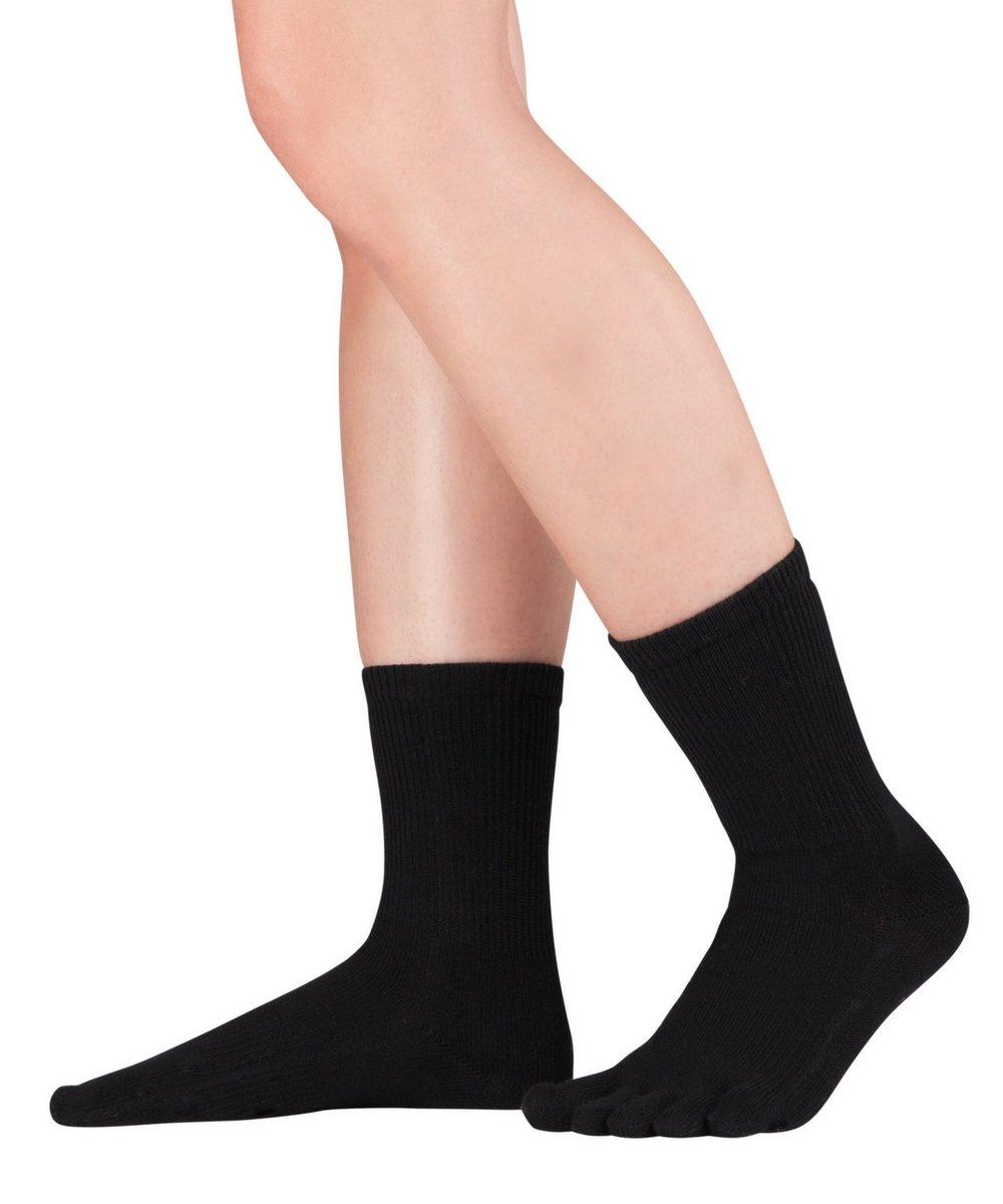 Knitido Dr. Foot® Hallux Valgus - Calcetines con dedos para Juanetes, media pierna Knitido®