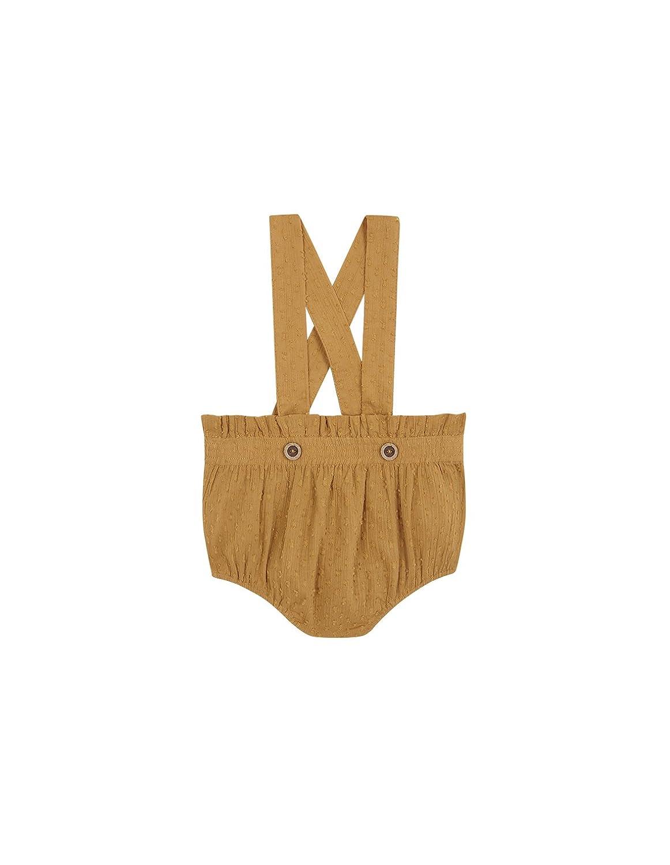 Gocco Pantalones para Bebés Gocco S81PTTCA802 Amarillo (Mostaza) 6 Meses