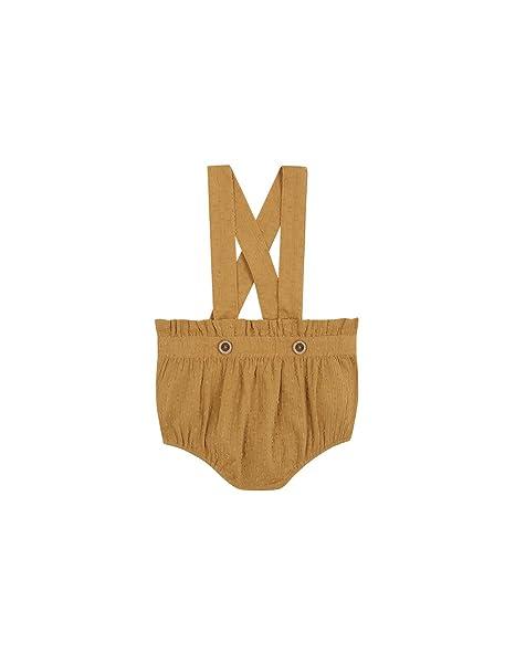 Gocco S81PTTCA802, Pantalones para Bebés, Amarillo (Mostaza), 3 Meses: Amazon.es: Ropa y accesorios
