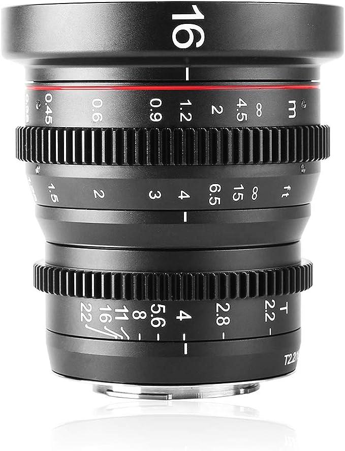 Meike 16 Mm T2 2 Manueller Fokus Weitwinkelobjektiv Für Kamera