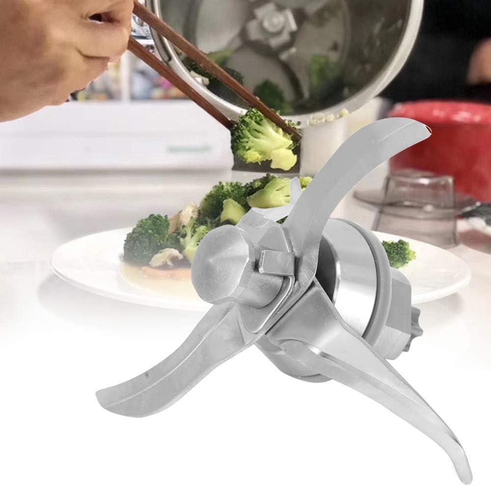 Yctze Accesorios de repuesto de cuchilla de licuadora de acero inoxidable Reemplazo de cuchilla Ajuste para Thermomix TM21