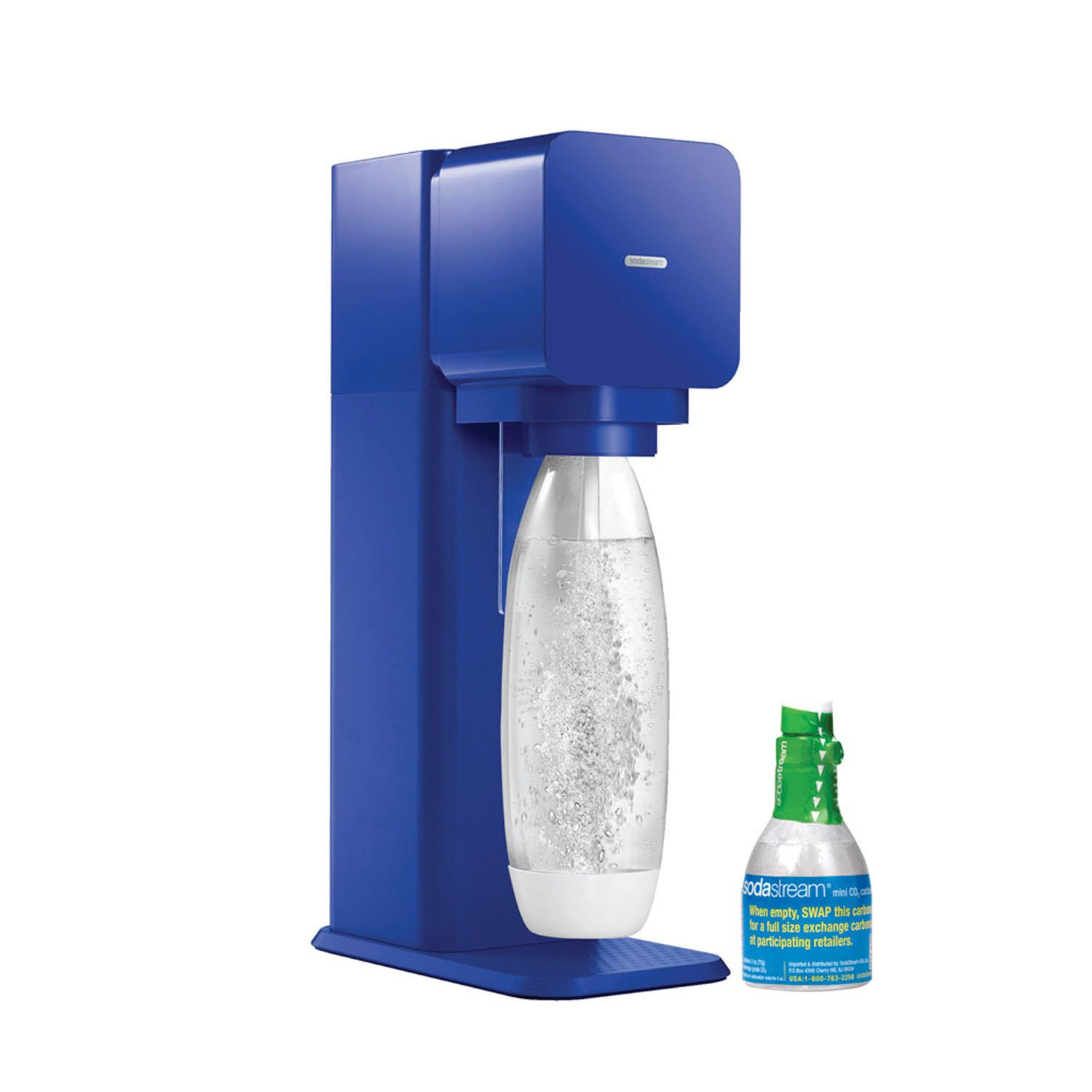 how to tell when sodastream co2 is empty