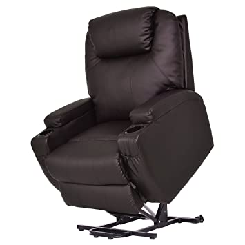 Amazoncom Giantex Lift Chair Electric Power Recliner Wremote And
