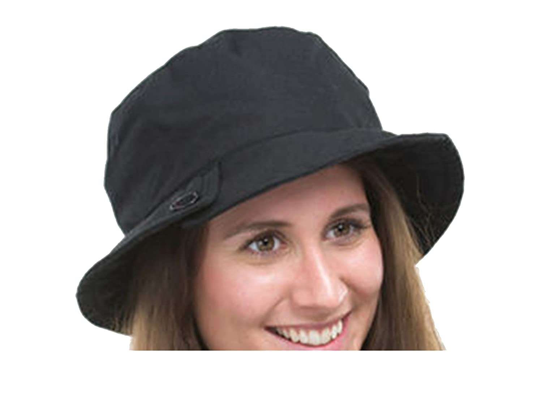 Jane Anne Designs Ladies High Quality Waxed Cotton Waterproof Wax Cloche Bucket Hat