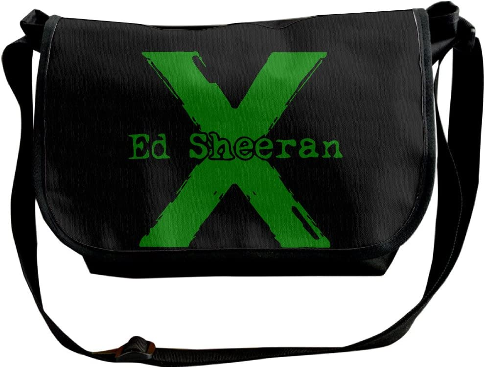 Logotipo de ED Sheeran poliéster cross-body Messenger Bolsos Unisex: Amazon.es: Electrónica