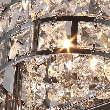 Amazon.com: Lovedima - Lámpara de baño moderna con cristales ...