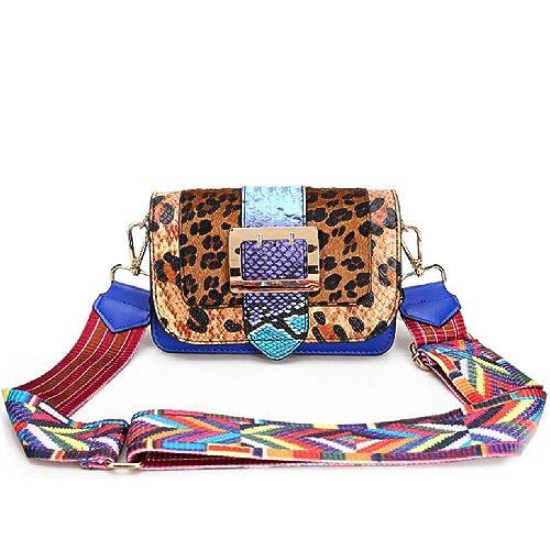selezione migliore c0a27 d7199 Queen Anter Borse a tracolla da donna in pelle di leopardo ...