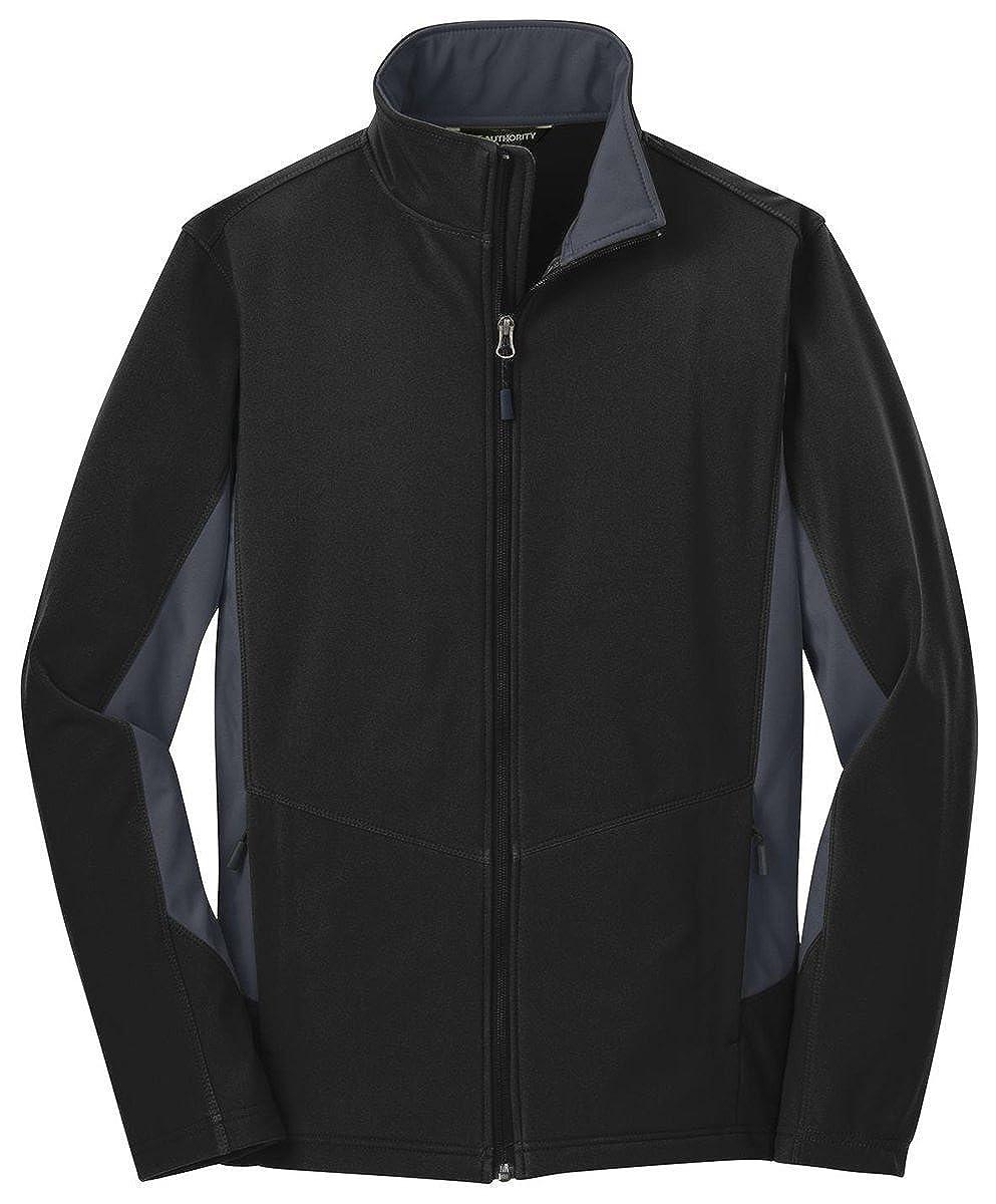noir  Battleship gris M Port Authority pour Homme Chaleur Couleurblock Softshell pour Homme