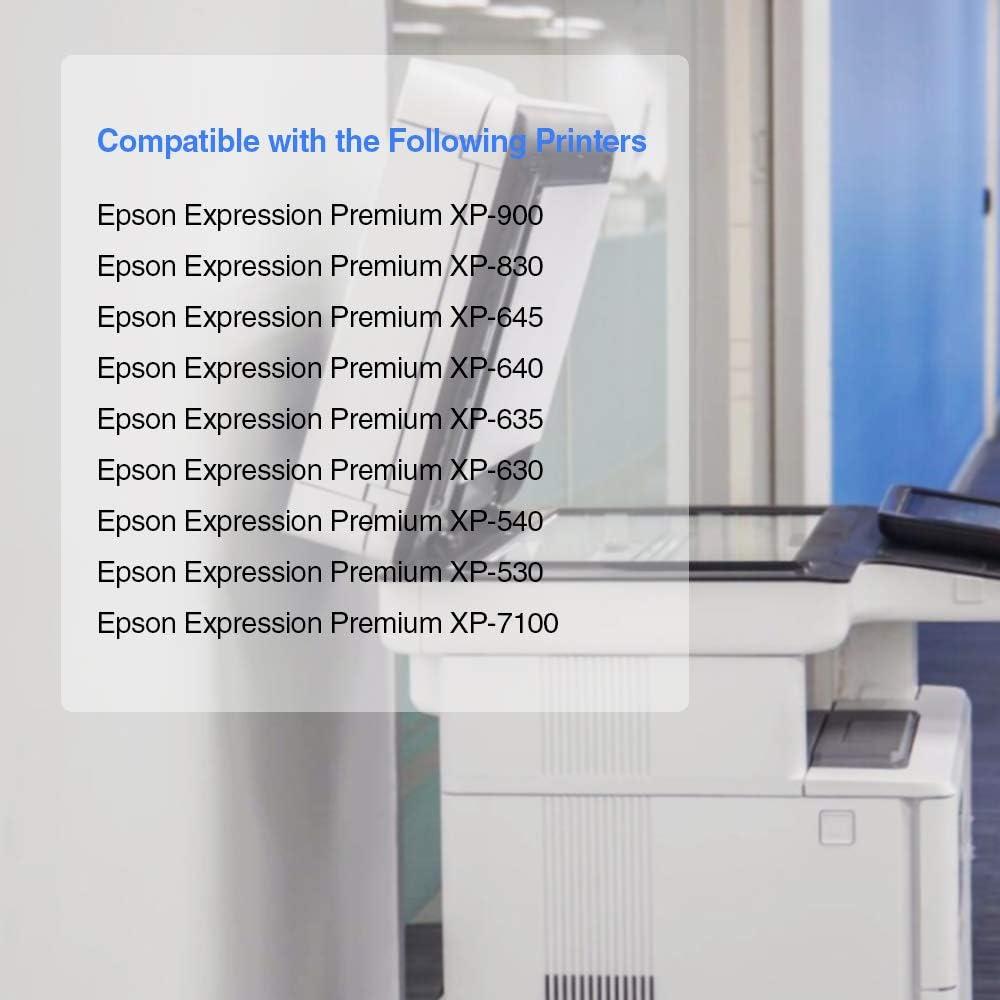 JARBO Reemplazo para Epson 33XL 33 XL Cartuchos de tinta para ...