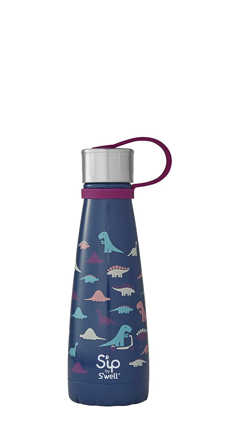 S'ip by S'well 20010-B18-07340 Water Bottle, 10 oz, Little Lions S'ip by S'well