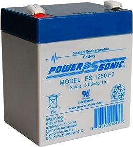 Power Sonic PS-1250F2 12V 5AH Battery for Black Decker Storm Station SS925