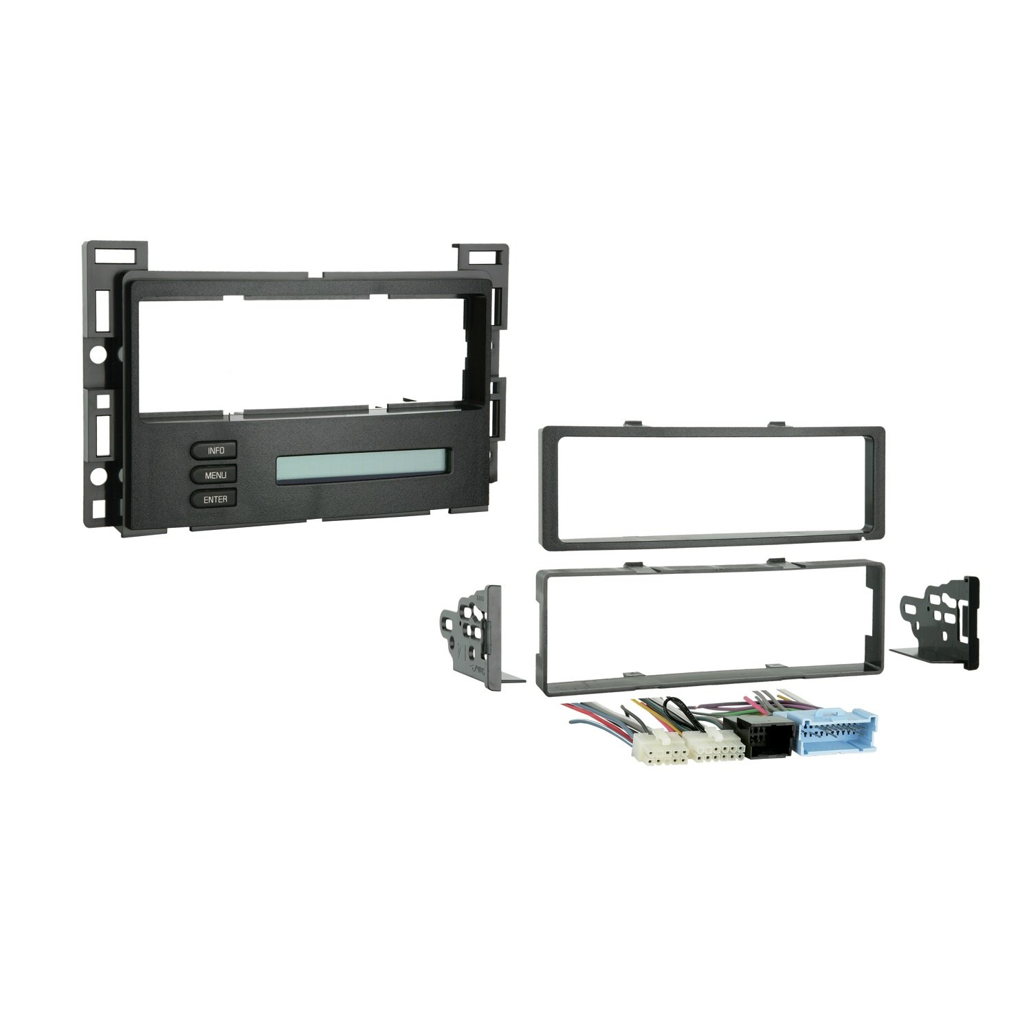 Metra 99-3303 Install kit for GM Vehicles Using The LAN System Integrate Vehicle Diagnostics -Black by Metra