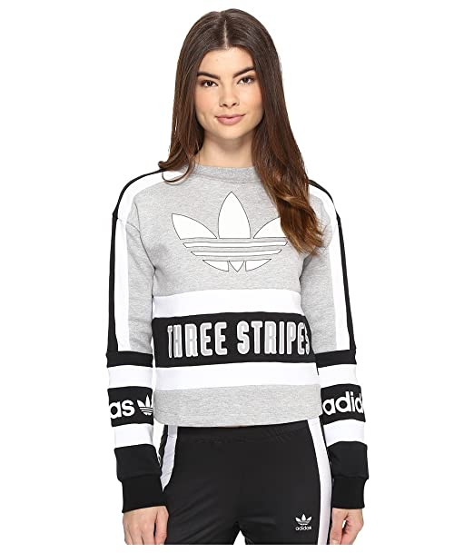 : adidas Originals Women's 3 Stripes Sweatshirt
