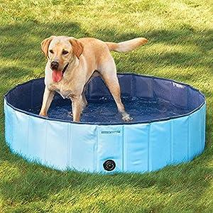 mia.home - Piscina per cani 80/120/160 cm, 120x30cm