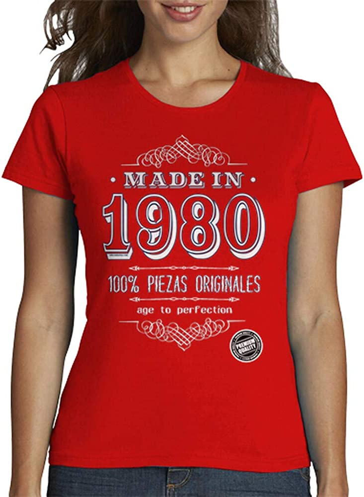latostadora Camiseta Made In 1981 para Mujer
