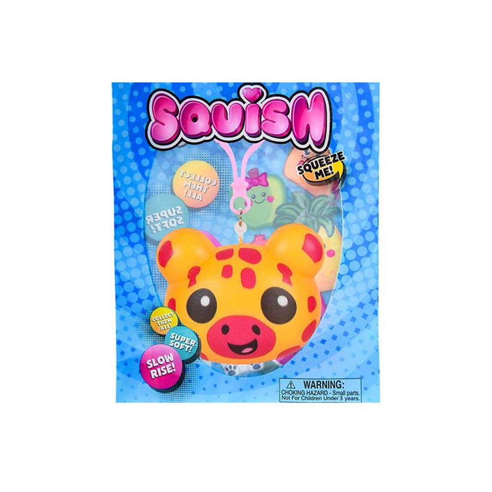 Stocking Stuffers Easter Baskets Zoombie Novelties Prizes Party Favors Animal Squish Keychains Slow Rise 12 Pack and 1 Vortex Eraser