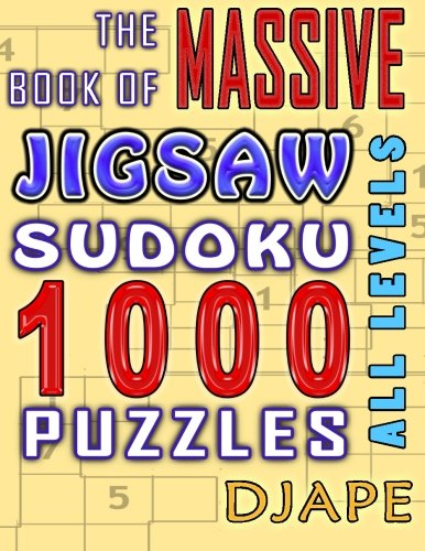 Massive Book Jigsaw Sudoku puzzles