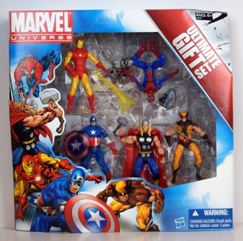 marvel action figure pack - 6