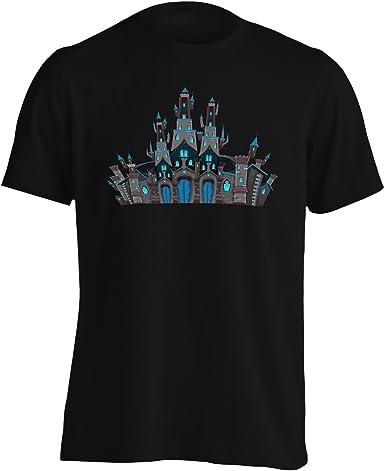Nuevo Castillo De Fantasía Medieval Camiseta de los Hombres h334m: Amazon.es: Ropa y accesorios