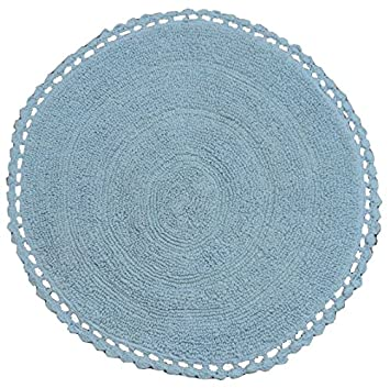 Amazonde Tata Home Ritz Badteppich Rund Durchmesser 60