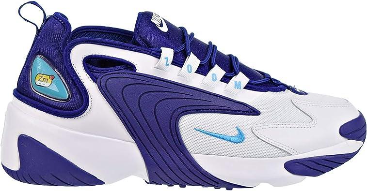 Nike Zoom 2K Hombres Zapatos Blanco/Azul Claro Fury ao0269-104