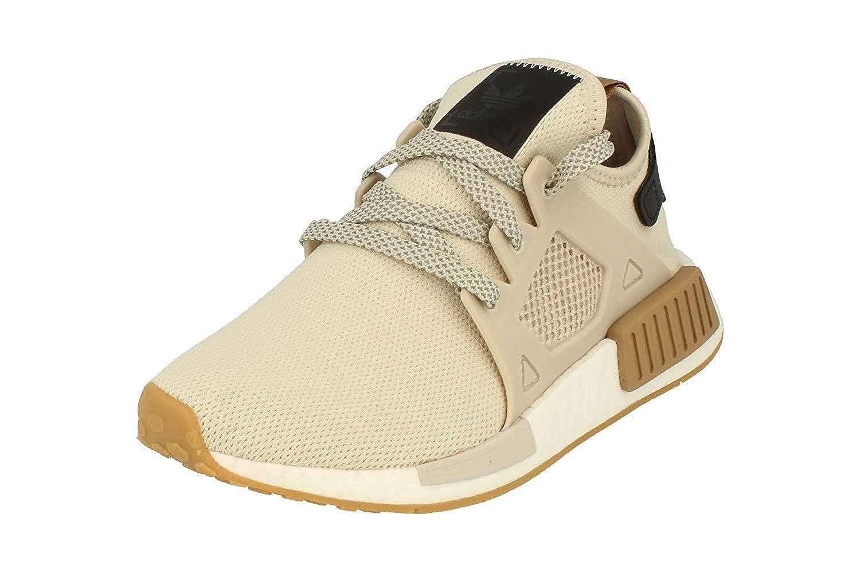 Beige White Da9526 Adidas Originals Men's Primeknit NMD_R1 Running shoes (Black)