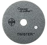 Twister™ Diamond Cleaning System 24'' White Floor Pad - 800 Grit - 2 per case