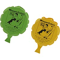 HOMYL 2pcs Whoopee Cushions Fart Whoopie Joke Prank Gag Trick Party Toys Yellow & Green