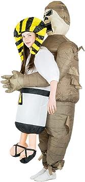 Bodysocks® Disfraz Hinchable de Momia Niño: Amazon.es ...