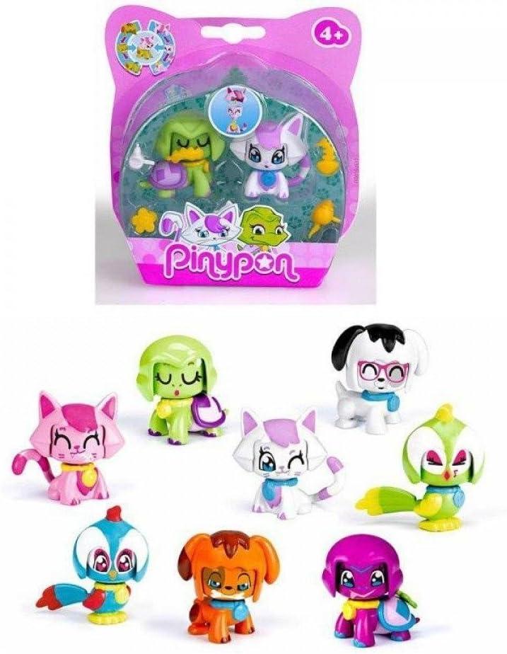 Pinypon Pack 2 Mascotas: Amazon.es: Juguetes y juegos