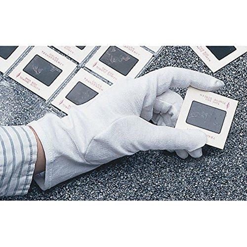 University Products Washable Cotton Gloves White 2 pair/pkg (Medium)