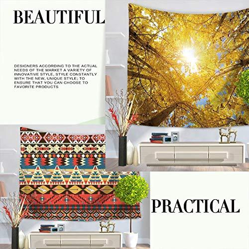 ArgoBa Forest Landscape Pattern Moda Tapestry Hanging Wall Tapestry Home Decor Coperta da Picnic Coperta da Spiaggia Tende da Letto
