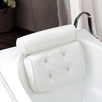 Amazon.com: Almohada de baño gruesa suave SPA para ...