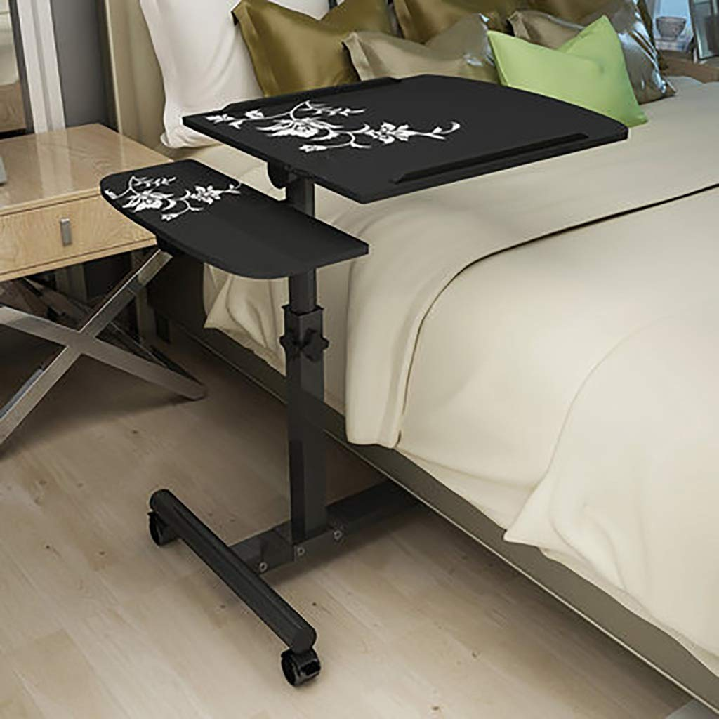 LQQGXLBedside Table Lazy Table Ground Table Study Table Laptop Table Bedside Table Small Side Table (Color : B) by LQQGXL